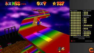 SM64: Stars of the Beast - Rainbow of the Damned - The Little House in the Sky [savestateless]