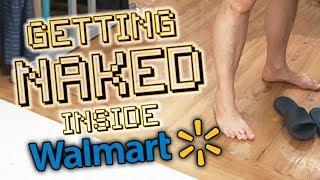 GETTING NAKED INSIDE WALMART | VLOG #395 | September 7-9 | 2018