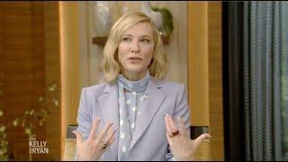 Cate Blanchett 'Ocean's 8' Complete Interview on Live with Kelly and Ryan