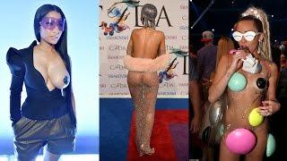 Celebrity 'naked' outfits