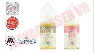 Naked 100 Salts **Green Blast & Hawaiian POG** E-Juice Review