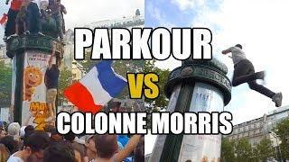 FAIL : comment grimper une Colonne Morris avec Clément Dumais ! (COUPE DU MONDE)