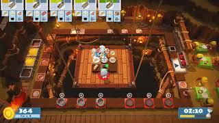 Overcooked 2 4th star (2 players) 5-3 failed