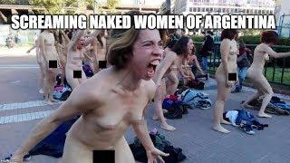 Screaming Naked Women of Argentina