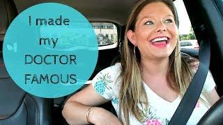 I Made My Doctor Famous | Chatty Car Vlog