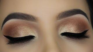 Soft Everday Nude Eye Makeup Tutorial