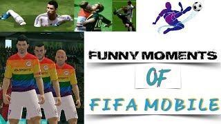 Funny Moments Of Fifa Mobile | fail | Glitch | fifa 18 fails