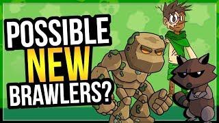Best NEW Brawler Ideas for Brawl Stars! Swim in Water? Teleporting??