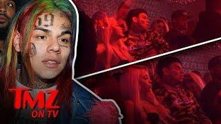 Tekashi69 & Female Friend Hit In The Club! | TMZ TV