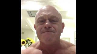 EastEnders' Ross Kemp strips NAKED in video celebrating England vs Columbia football win