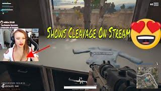SEXY PUBG girl stream moments| lexi strips | PUBG girl caught naked on camera #4