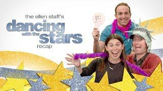 The Ellen Staff's 'Dancing with the Stars' Recap Brings New York & Vegas to the Cube!
