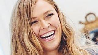 RONDA ROUSEY PHOTO SHOOT RUINED WHEN SHE SHOWED THE WORLD HOW STUPID SHE REALLY IS!!
