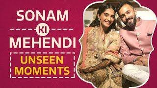 Sonam Ki Mehendi - Unseen Moments | Bollywood | Pinkvilla | SonamKiShaadi