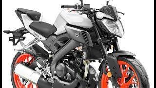 2019 Yamaha MT-125 color range +details & action photos