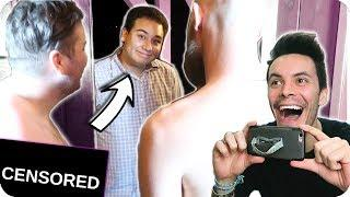 Surprising Roommate with TWO Naked Friends