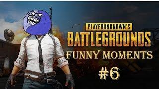 Player Unknown Battlegrounds Funny Moments #6 - It's Time to Backstab