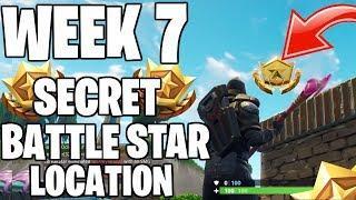 WEEK 7 SECRET BATTLE STAR LOCATION!ROAD TRIP SKIN UNLOCKED! SEASON 5