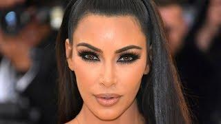 Kim Kardashian reveals naked breasts and underwear