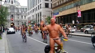 Philly Naked Bike Ride 2018