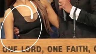 Ariana Grande - PASTOR INAPPROPRIATELY TOUCHES HER !!