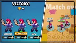 3 COLT ON HEIST OVER 500 TROPHIES! GLITCH!? :: Brawl Stars Gameplay