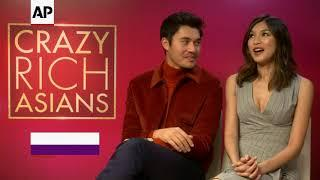'Crazy Rich Asians' stars reveal favorite outfits