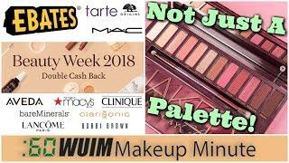 Urban Decay Cherry is MORE Than A Palette! Ebates Double Cash Back! | Makeup Minute