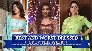 Hina Khan, Karishma Tanna, Krystle Dsouza: TV's Best and Worst Dressed of the Week