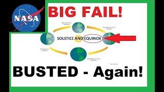 NASA Model BUSTED AGAIN! Equinox FAIL!
