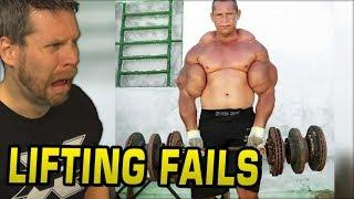 Weight Lifting Fails! THESE POOR DUDES