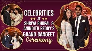 Ram Charan, Upasana and others at Shriya Bhupal-Anindith Reddy's grand sangeet ceremony | Pinkvilla