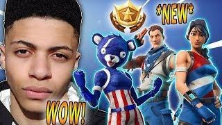 MYTH REACTS TO *NEW* FIREWORKS TEAM LEADER & STAR-SPANGLED SKINS! (4th July)