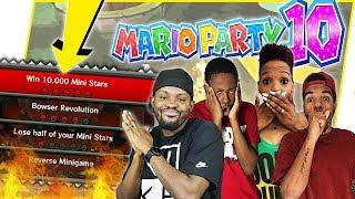 OH SNAP! SOMEONE FINALLY HITS 10,000 MINI STARS?!?! - Mario Party 10 Gameplay