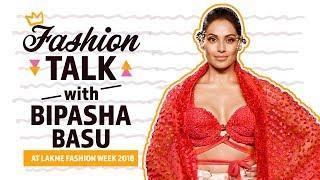 Bipasha Basu gives an anecdote on fashion at Lakme Fashion Week 2018 | Pinkvilla | Fashiion