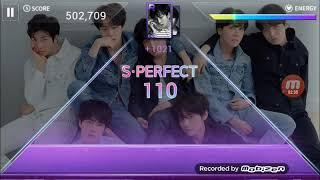 Superstar BTS #1 Me trying to get 3 stars on hard mode *FAIL*