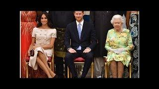 Did Prince Harry just snub Meghan Markle in the presence of Queen? | by CelebsNow