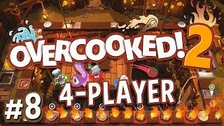 Overcooked 2 - #8 - Let Yourself Fail (Preview Build Gameplay)