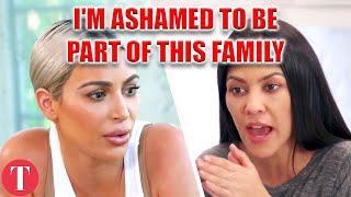 Kourtney Kardashian ASHAMED Of Materialistic Sisters Kim And Khloe