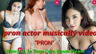sexy performance of Indian hot girls by musically || pron star || Indian desi nude on musically site