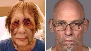 'Naked burglar s exually a ssaulted woman, 80, then s hot her through her eyelid'