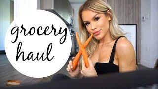 Beginner's Easy/Healthy Vegan Grocery Haul + What I Eat Daily | DailyPolina