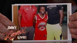 Kevin Hart's Pictures with NBA Stars