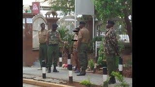 Woman Strips Naked Outside Harambee House, Protests High Cost Of Living
