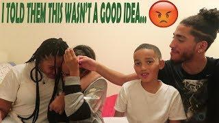 Celebrity SMASH OR PASS with my younger siblings GONE WRONG! I got TIGHT.
