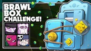 The BEST Brawl Box Opening CHALLENGE! -  Mega & Big Brawl Box Opening + Gameplay! - Brawl Stars!