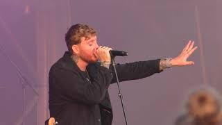 James Arthur sings NAKED at the Tynemouth Priory 2018