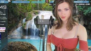 ASMR girl farts during stream (fail?) #3