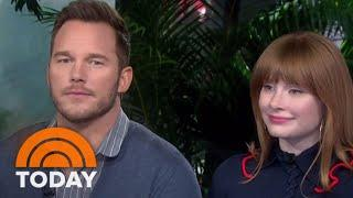 'Jurassic' Stars Chris Pratt And Bryce Dallas Howard Visit TODAY | TODAY