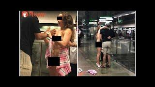 Nude woman, 35, at Pioneer subway station arrested - Stomp